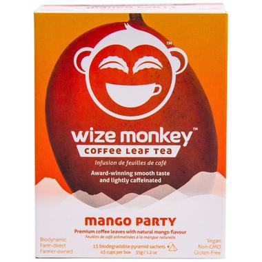 Wize Monkey Coffee Leaf Tea Mango Party