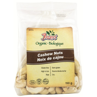 Inari Organic Whole Cashew Nuts