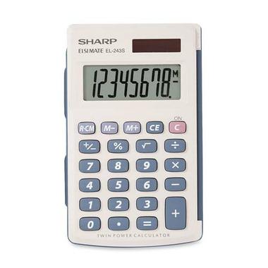Sharp 8 Digit Handheld Calculator