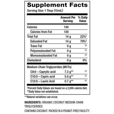 Nutiva Organic Liquid MCT Coconut Oil