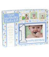 C.R. Gibson Photo Prop Kit First Birthday Boy