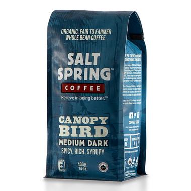 Salt Spring Coffee Canopy Bird