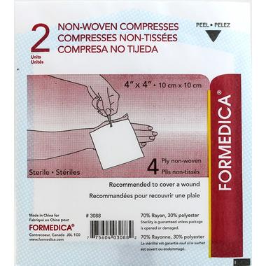 Surgi-Forme 4 Ply Non-Woven Sterile Compresses