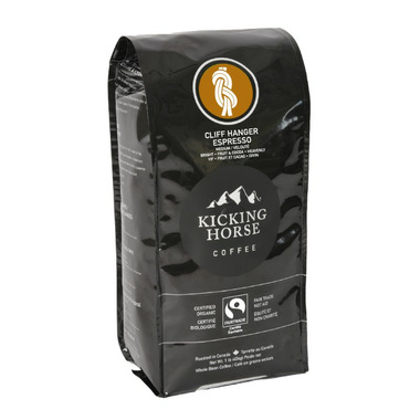 Kicking Horse Coffee Cliff Hanger Espresso Medium