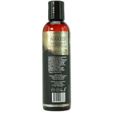 Intimate Earth Naked Fragrance Free Massage Oil