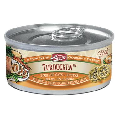 Merrick Gourmet Entree Cat Food - Turduken