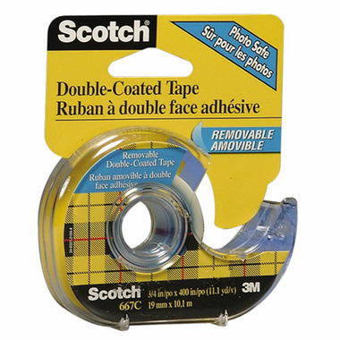 buy 3m scotch removable double sided office tape at well. Black Bedroom Furniture Sets. Home Design Ideas