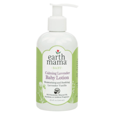 Earth Mama Organics Baby Calming Lavender Lotion