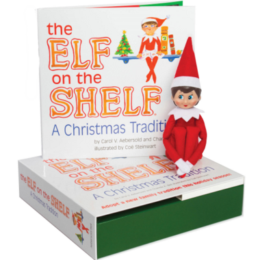 Elf on the Shelf A Christmas Tradition Girl Scout