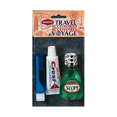 Mansfield 3 Piece Travel Accessories Kit