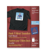 Avery Dark T-Shirt Transfers for Inkjet Printers