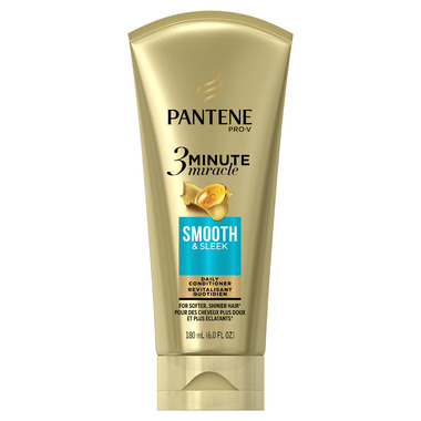 Pantene Smooth & Sleek 3 Minute Miracle Daily Conditioner