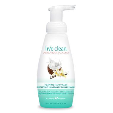 Live Clean Vanilla Bean & Coconut Foaming Hand Soap