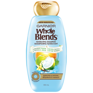 Garnier Whole Blends Coconut Water Vanilla Milk Hydrating Shampoo