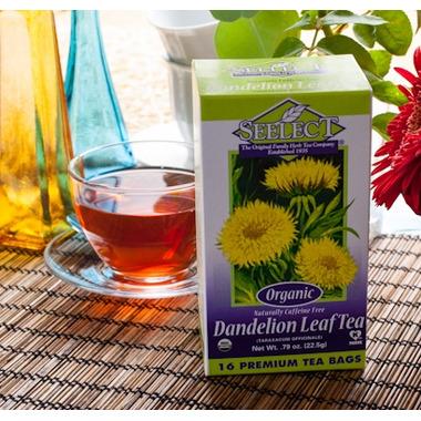 Seelect Tea Organic Dandelion Leaf