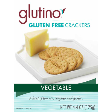 Glutino Gluten Free Vegetable Crackers