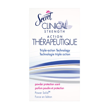 Secret Clinical Strength Power Solid Deodorant