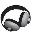 Banz Bluetooth Earmuffs Baby Mini Grey