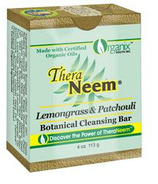 TheraNeem Lemongrass & Patchouli Botanical Cleansing Bar