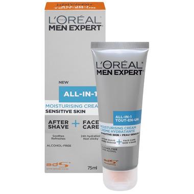 L\'Oreal Men Expert All-In-1 Moisturising Cream for Sensitive Skin