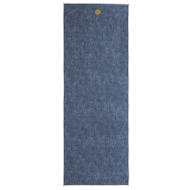 Manduka yogitoes Skidless Towels Denim Collection Indigo Denim