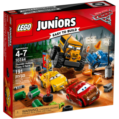 Lego Juniors Disney Cars Thunder Hollow Crazy 8 Race