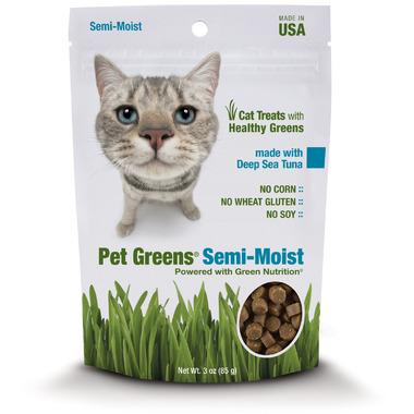 Pet Greens Semi-Moist Cat Treats with Deep Sea Tuna