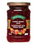 Mackays Three Berry Jam