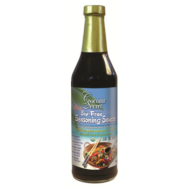 Coconut Secret Organic Coconut Aminos Soy Free Seasoning Sauce