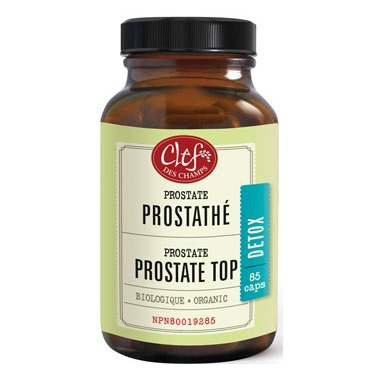 Clef Des Champs Organic Prostate Top Capsules