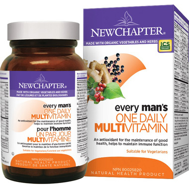 New Chapter Every Man\'s One Daily Multivitamins