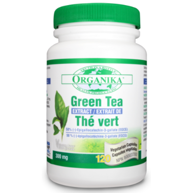 Organika Green Tea Exract Capsules