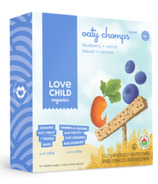 Love Child Orangics Blueberry & Carrot Oaty Chomps