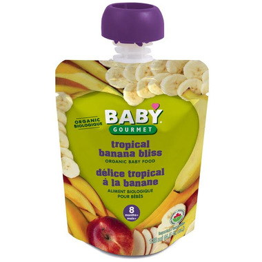 Baby Gourmet Tropical Banana Bliss Baby Food Case