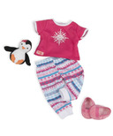 Our Generation Snow Adorable Snowflake PJ's Outfit