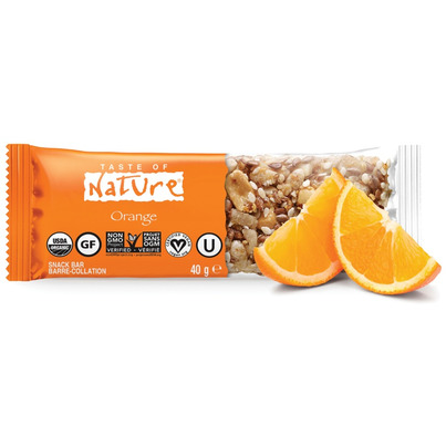 Buy taste of nature organic food bar case of 16 x 40 g for Organic food bar