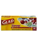 Glad Zipper Food Storage Bags