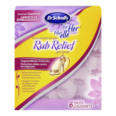 Dr. Scholl\'s For Her Rub Relief Gel Spots