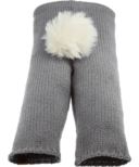 Bedford Road Grey Knitted Bunny Tail Pants