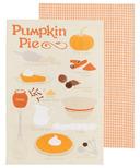Now Designs Pumpkin Pie Tea Towel Duo
