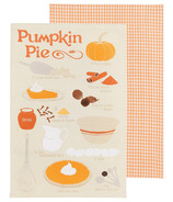 Now Designs Pumpkin Pie Tea Towel Duo