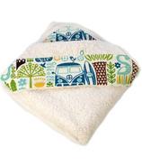 Oko Creations Organic Hooded Baby Bath Towel Ukulele
