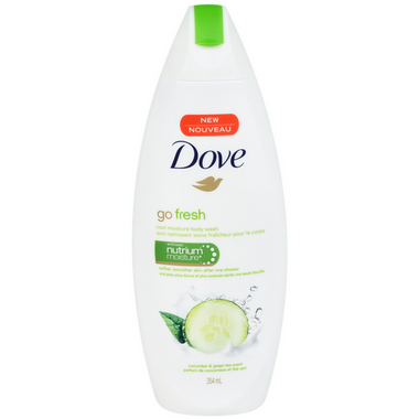 Dove Go Fresh Cool Moisture Cucumber & Green Tea Scent Body Wash