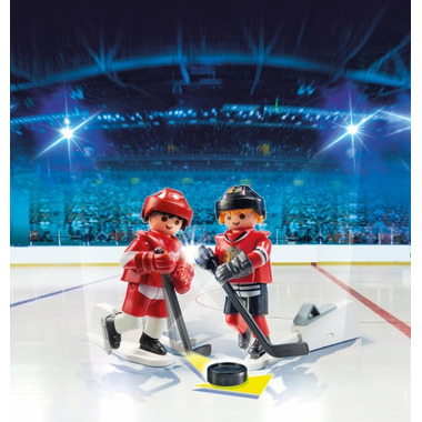 Playmobil NHL Rivalry Series CHI vs. DET