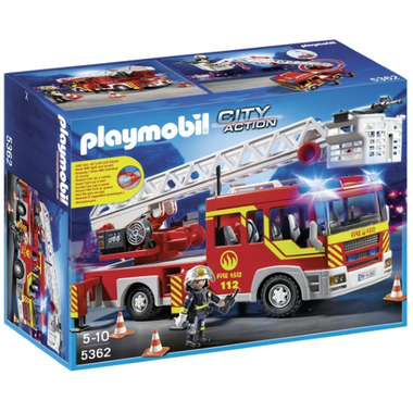 Playmobil Ladder Unit with Lights and Sound