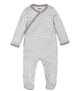 Skip Hop Petite Triangles Side-Snap Sleeper Grey
