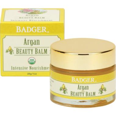 Badger Argan Beauty Balm for Intensive Nourishment