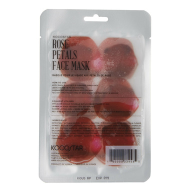 Kocostar Rose Petals Face Mask