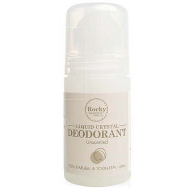 Rocky Mountain Soap Co. Unscented Liquid Crystal Deodorant