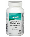 Rexall Melatonin Quick-Dissolve Sleeping Aid